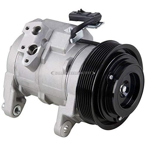 AC Compressor & A/C Clutch For 2003-2008 Dodge Ram 1500 2500 3500 Trucks & 2004-2006 Dodge Durango w/ 5.7L HEMI V8 - BuyAutoParts 60-01722NA NEW