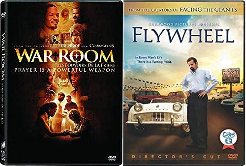 Faith + Courage + Religion:War Room & Flywheel (Director's Cut) 2 DVD Faith Based True Stories Bundle