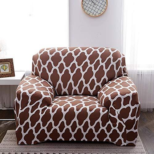 WXQY Funda Protectora de sofá elástica Simple combinación Antideslizante Funda Protectora de sofá Todo Incluido Funda Protectora de sofá de Esquina en Forma de L A14 4 plazas