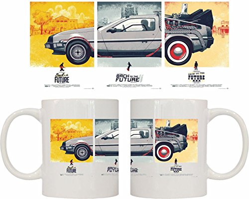DrMugCollection Taza Delorean