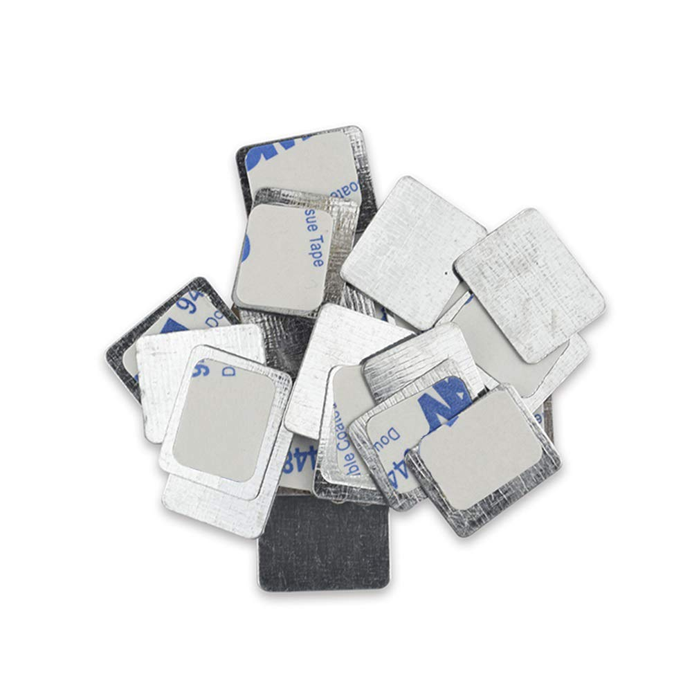 TUOKING 50Pcs Square Metal Stickers Palette Makeup Max 79% OFF Albuquerque Mall Magnetic for