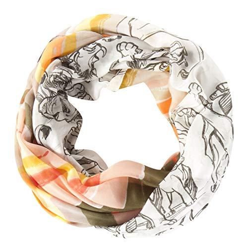 CODELLO Damen Sommerleichter Loop-Schal Disney König der Löwen