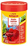 sera Bettagran Fischfutter Farbfutter Granulat, 2er Pack (2 x 100 ml)