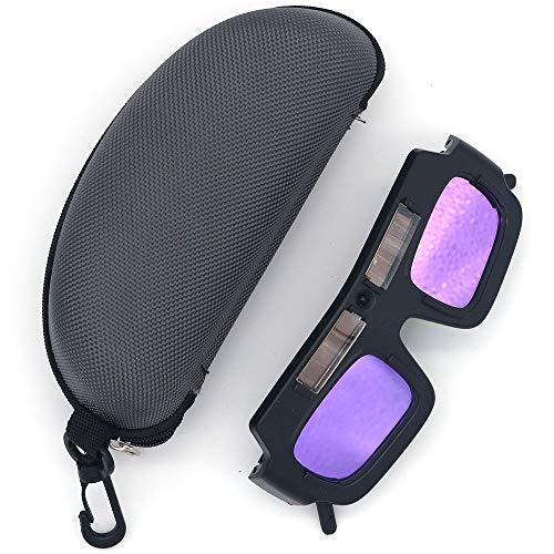 Gafas de protección ocular de gafas de soldadura NUZAMAS, gafas de soldadura de oscurecimiento automático solar, herramientas de protección de seguridad para soldadores, viene con estuche para gafas ⭐