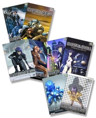 Ghost in the Shell: Stand Alone Complex - Vol. 1 bis 8 (8 DVDs)