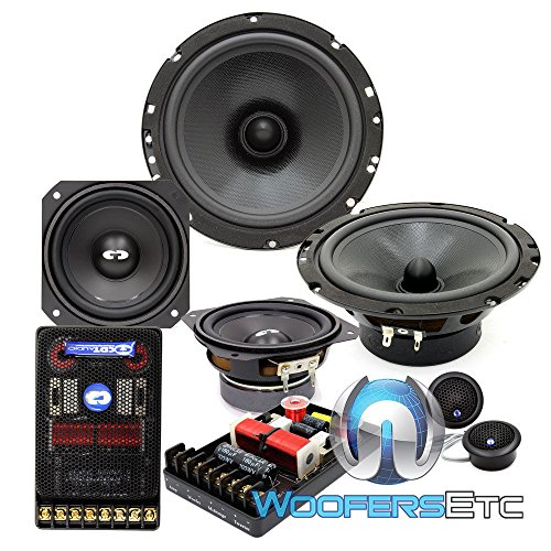Review Of CL-6E42 - CDT Audio 3-Way 6/4/1 Component System