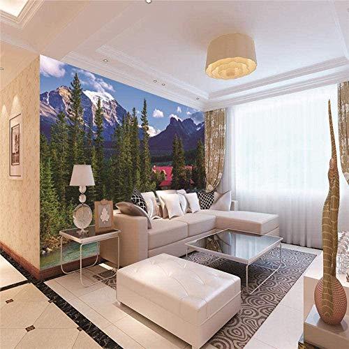 Vliestapete 3D Landschaft Landschaft Mauer Fresco Foto Fernseher Sofa Hintergrund Seide Wandmalerei,Kunst Tapeten für Wohnzimmer Schlafzimmer Einrichtung 250cm(W) x175cm(H)-5 Stripes