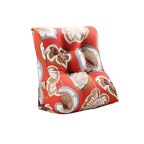 coussins pour Couvre-poitrine Coussin Tridimensionnel Toile Lavable Amovible Toile Taille Du Coussin 55x30x60CM (Couleur : Red maple leaves, taille : De 55 cm)