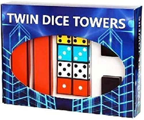 comprar ahora SOLOMAGIA Twin Dice Dice Dice Towers by Joker Magic - Stage Magic - Trucos Magia y la Magia - Magic Tricks and Props  Seleccione de las marcas más nuevas como