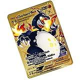 Pokemon Cartas vmax , GX V French Collectible Trading Card, un Juego de Cartas Creativo y Divertido diseñado para coleccionistas Adecuado para el Entretenimiento de la colección Conmemorativa - A