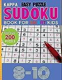 Kappa Easy Puzzle Sudoku Book for smart kids: Sudoku 200 Easy Puzzle Book Age 8-10: Total 200 Sudoku Puzzles to solves Sudoku Puzzle Books Easy