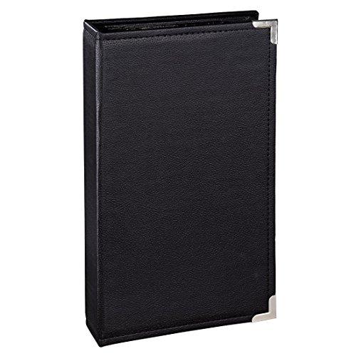 Hama Einsteckalbum New York City, für 300 Fotos im Format 10x15, schwarze Innenseiten, 3 Einsteck-Taschen pro Seite, Foto-Album schwarz