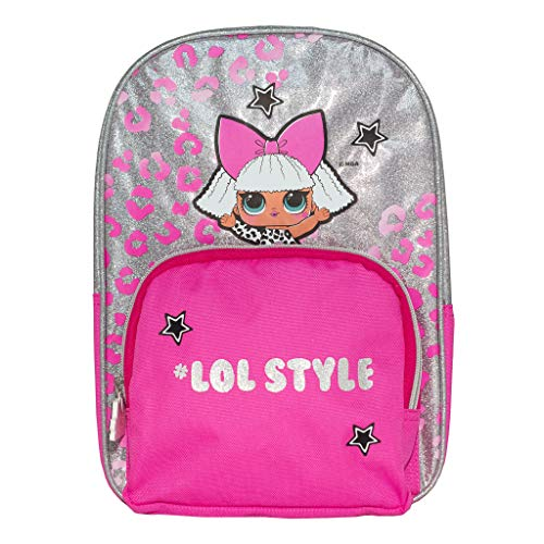 LOL Surprise LOL Style Girls Backpack | Official Merchandise | Back to School, Kids Rucksack, Childrens Bags, Birthday Gift Idea for Girls