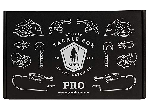 Catch Co Mystery Tackle Box PRO Bass Fishing Kit