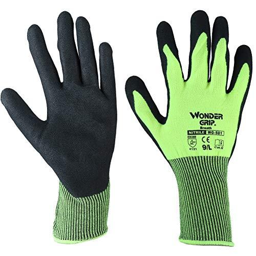 Guanti da lavoro rivestiti in PU, guanti da giardinaggio antiscivolo, guanti antiscivolo, guanti da giardinaggio per le donne, cucina per la sicurezza