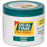 Real Time Pain Relief Foot Cream, 4.4 Ounce Jar