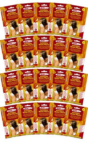 20er Set Wärmepflaster Schmerzpflaster 13x9,5 cm Wundmed 8h Rücken Pflaster Wärmepad Nacken Wärmekissen Wärme Wärmepad verspannung muskelschmerzen