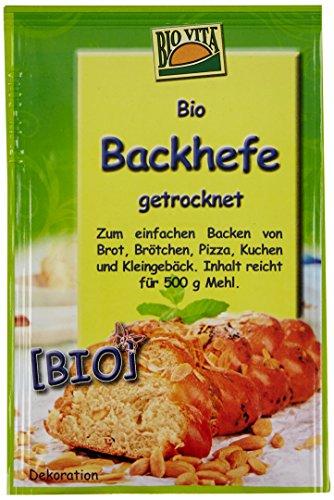 BIOVITA Bio Hefe, getrocknet, 15er Pack (15 x 9 g)