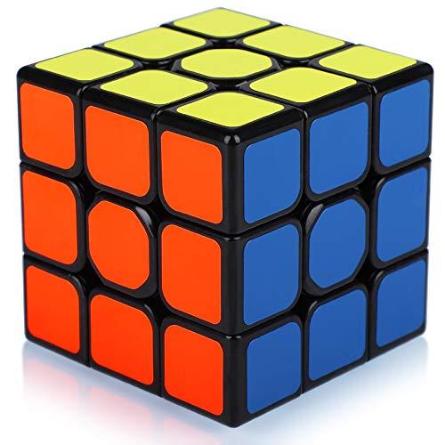Maomaoyu Cubo Magico de la Velocidad, Cubo 3x3 , Negro