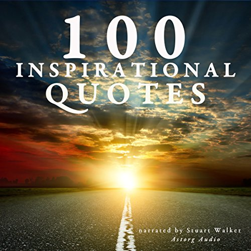 100 inspirational quotes audiobook cover art