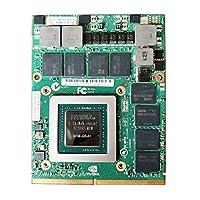 新しいfor NVIDIA Quadro M4000M 4GB Graphics Card、for HP ZBook 17 G3 G4 Lenovo P70 P71ワークステーションノートパソコンMSI GT60 GT70 GT72ゲーミングノートパソコン、GDDR5 N16E-Q3-A1グラフィックボード
