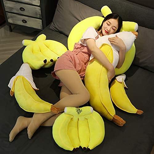 Doll Doll Show Props Koesteren van het meisje Pluchen speelgoed Banana Pillow Children's Sleeping Pillow Gift 100cm,70cm