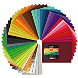 Arteza Bastelfilz Set 20.8 x 30 cm, 50 farbige Filzplatten
