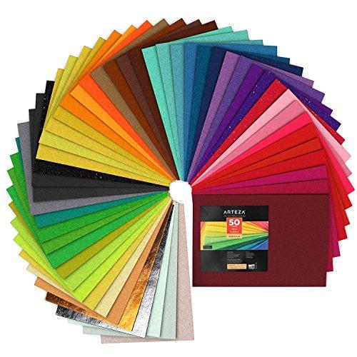Premium Felt Sheets, Assorted Colors