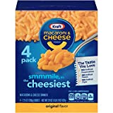 Kraft Original Flavor Macaroni & Cheese Dinner, 4 - 7.25 oz Boxes