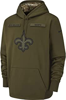 New Orleans Saints 2018 NFL Salute to Service Men's STS Hoody