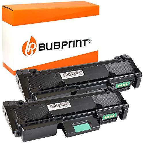 Bubprint Kompatibel Toner als Ersatz für Samsung MLT-D116L Xpress M2625D M2675F M2675FN M2825DW M2825ND M2835DW M2875DW M2875FD M2875FW M2885 M2885FW Schwarz 2er-Pack