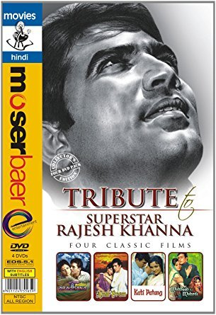 Tribute to Rajesh Khanna (Aradhana/amar Prem/kati Patang/mehboob Ki Mehendi) (Cyber Monday)