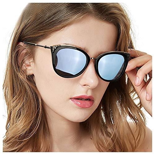 TosGad Gafas De Sol de Ojo de Gato para Mujeres, Grandes...