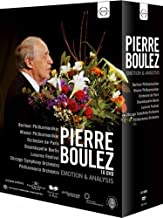 Pierre Boulez: Emotion & Analysis - Boxed Set