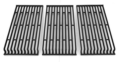 Porcelain Cast Iron Replacement Cooking Grid For Fiesta Blue Ember, FG500057-103, FGF50057, FGF50069-103, FGF50069-U40, FG50069, FG50069-U409 Gas Grill Models, Set of 3
