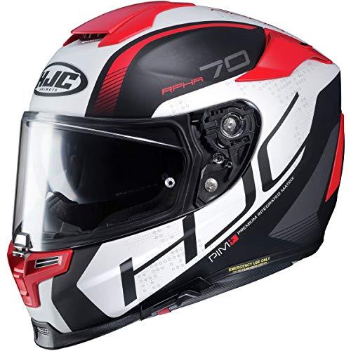 HJC RPHA 70 ST Helmet - Vias (Medium) (RED/White/Black)