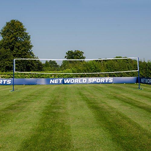 Vermont Badminton/Volleyball freistehende Kombinationen Pfosten – wählen Sie entweder die Pfosten nur oder Pfosten mit Netz unten aus (Pfosten und Netz)
