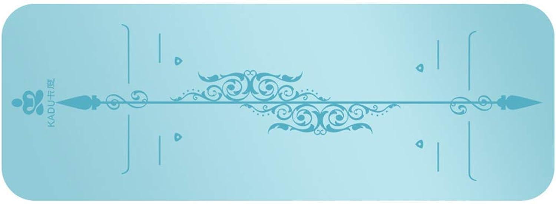 KYCD Yogamatte aus natürlichem Gummi, Rutschfest, umweltfreundlich, leicht, extra gro, 5 mm breit, für Damen und Herren