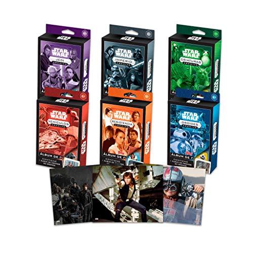 Topps- Colección Completa: Star Wars Fact Files (SFS-TB1)