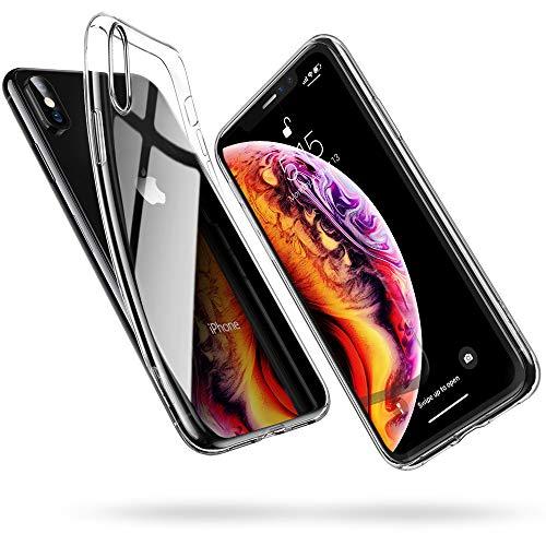 ESR Cover Compatibile con iPhone XS, Cover Compatibile con iPhone X, Custodia Gel Trasparente Morbida Silicone Sottile TPU [Ultra Leggera] Compatibile con iPhone XS/X da 5.8