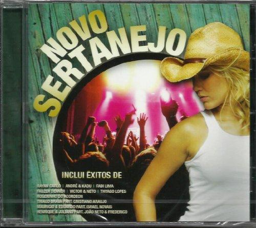 Novo Sertanejo [CD] 2013