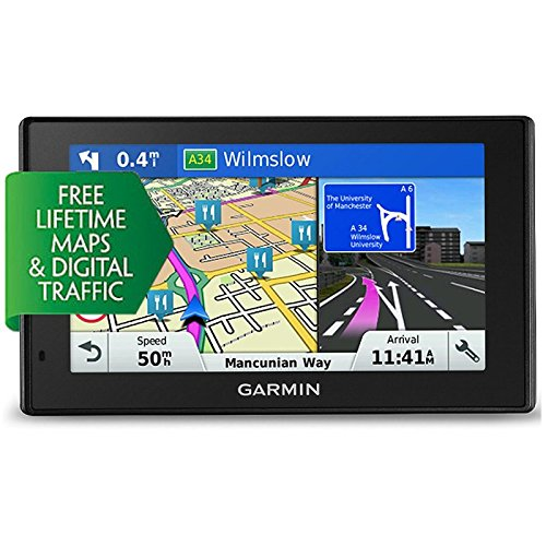 Garmin DriveSmart 50LMT-D - Navegador GPS de 5 pulgadas, mapas y tráfico de toda Europa