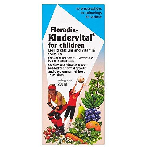 Floradix Kindervital Para Niños (250ml) (Paquete de 2)