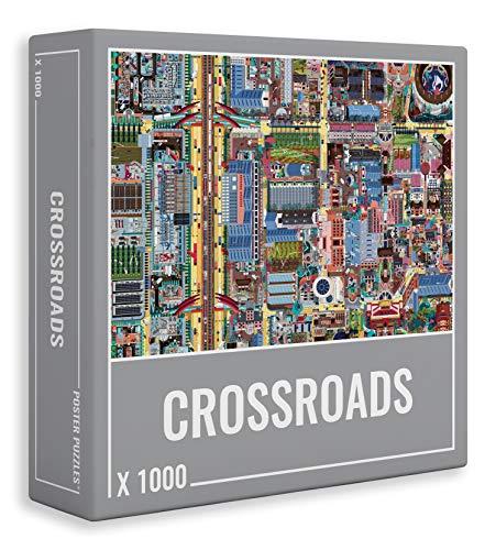 Cloudberries Crossroads –Desafiante Rompecabezas de un Desafiante y Hermoso Mapa Callejero para Adultos (1,000 Piezas)
