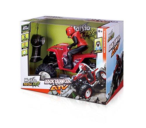 Maisto 81323 - Radiocomando Tech Rock Crawler ATV,...