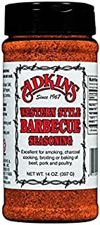 Adkins Western Style Barbecue BBQ Seasoning 14 OZ All Natural