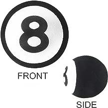 YGMONER Antenna Ball/Cute Antenna Topper/Car Foam Balls (8 Ball)