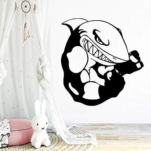 Decoración de chapa de pared de tiburón decoración de hogar restaurante decoración de cocina decoración de habitación