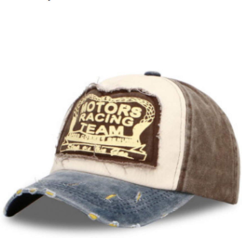 JINRMP Patchwork Stitched Baseball Cap for Women Vintage Washed Cotton Trucker Hat Men Summer Distress Snapback Hat Cap Hip Hop Bone