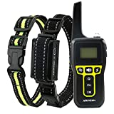 IOKHEIRA Dog Training Collar with Remote 2600Ft Range, Rechargeable No Shock Dog Training Collar with Beep and Vibration Modes, IP67 Waterproof for Small Medium Large Dogs